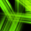 Bright luminescent green surface. EPS 10