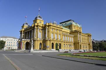 Teatro nazionale Croato, Zagabria