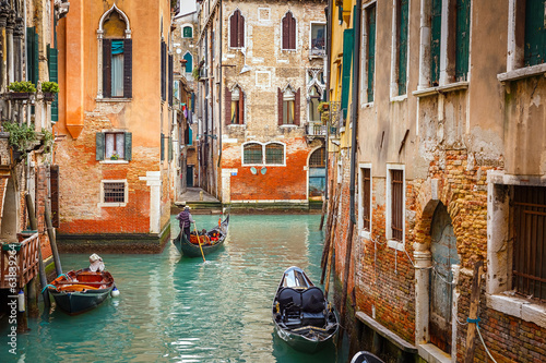 Canal in Venice - 63839264