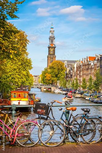 Plakát, Obraz Prinsengracht kanál v Amsterdamu