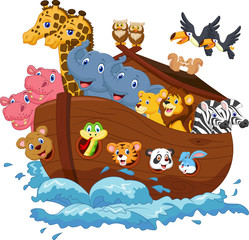 Noah's Ark cartoon