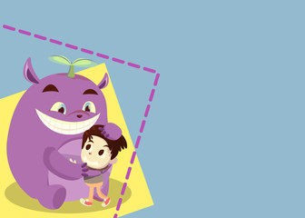 Friendship Card - Purple Pugging Smith