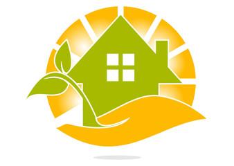 Eco Hand House sun
