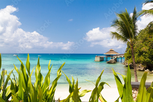 Scenery of beautiful resort,Boracay