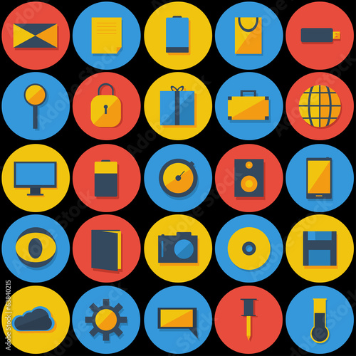 large Set of Icons