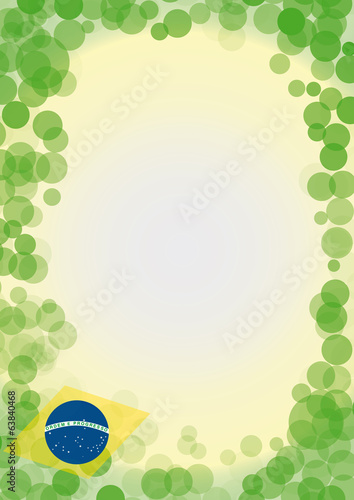 bubble brazil background