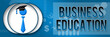 Business Education Business Theme Banner