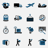 Logistic Icons Set - 63840614