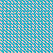 Zigzag seamless pattern in retro colors