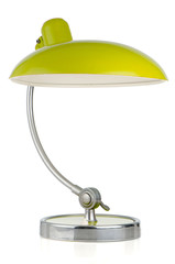 Retro green table lamp