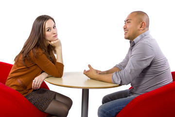 Interracial date that is boring and un-romantic