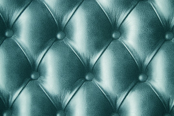 Turquoise / blue-green skin leather wallpaper background