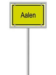 Aalen - Ortsschild