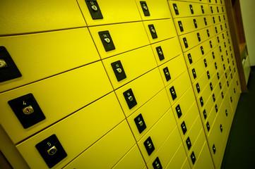 Postfächer bei der Post