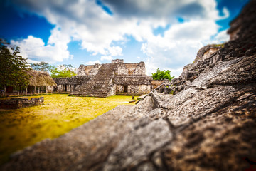 Archaeological Area of Ek-Balam, Yucatan, Mexico