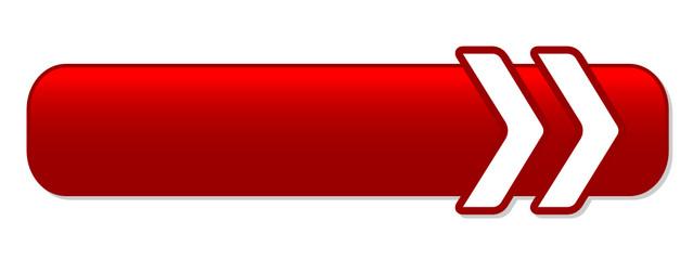 BLANK red web button (square icon symbol template)