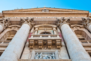 Saint Peter's Basilica entrance