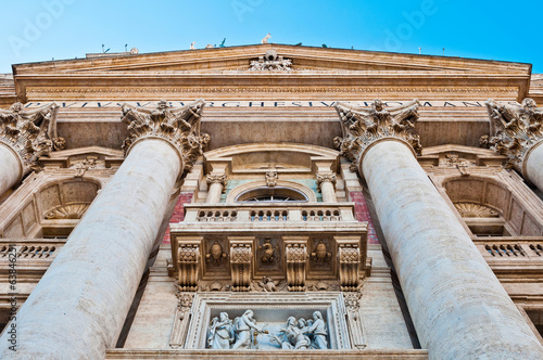 Saint Peter's Basilica entrance