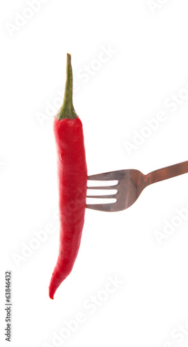 Chili and Fork