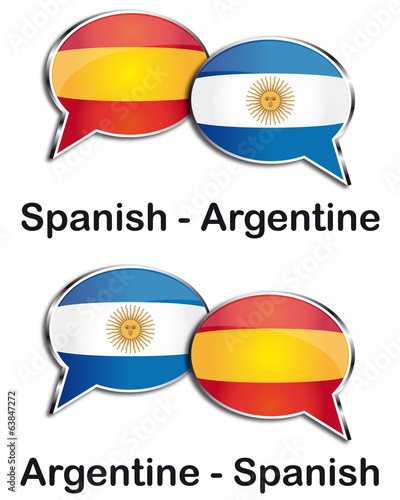 Spanish - Argentine translator clouds