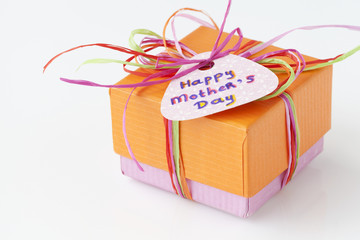 Colorful present for Mothers Day ( Mother's Day)