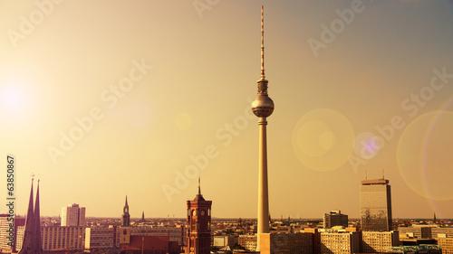 Staande foto Berlijn berlin im sonnenlicht