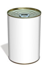 Aluminum can template