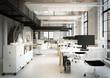 Leinwanddruck Bild - Loftbüro - downtown loft office agency