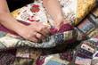 Quilting equipment and fabrics. - 63853625