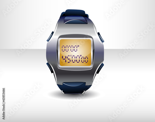 Sport timer. Illustration 10 version.