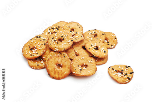 salty seeds crackers