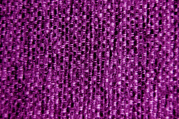 Purple fabric wallpaper background close-up