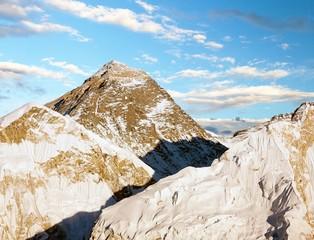 Evening view of Everest from Kala Patthar