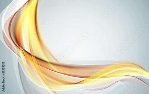 Elegant gold waves for your creative design