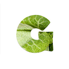 fruits and vegetables - letter G