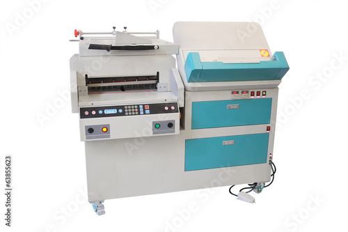 a professional printing machine