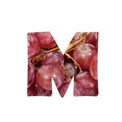 fruits and vegetables - letter M