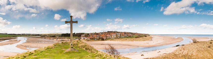 Alnmouth Village panorama