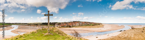 Alnmouth Village panorama