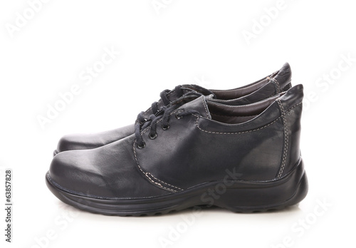 Comfortable black shoes.