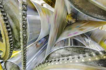 Printing machine, hit set speed roto offset print press