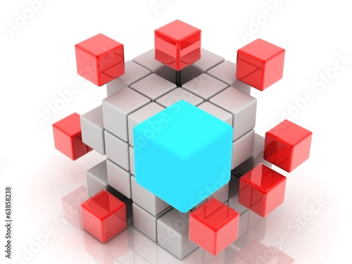 construction of the cube