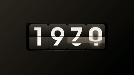 Countdown to the year 1970