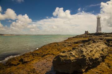 faro di Baia da Traiçao, Villaggio di pescatori del Brasile