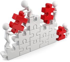 Zusammenarbeit Aufbau