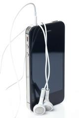 Technology. Smartphone close-up