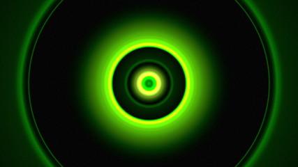 Light Circles Green