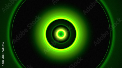 Light Circles Green