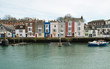 canvas print picture - Weymouth Dorset
