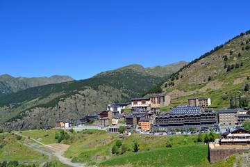 Andorra: Vista de Soldeu
